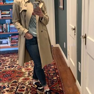 Ann Taylor tan trench coat